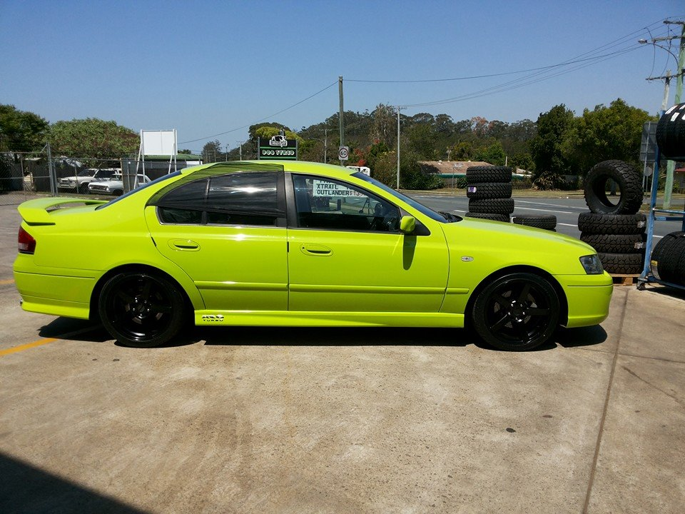 18inch PDW C-SPEC with tyres sold for $1100.00 Come and see us for your share of the BOSS is gone, Madness.