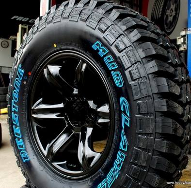 Deestone Mud Clawer Tyres at Dog Tyred