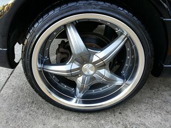 18 inch BSA G2-168 on SRI turbo Astra. Wheels and tyres  From $1400.00.